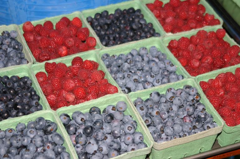 Meadow Mist Farm -  Pesticide Free Strawberries, Red Raspberries, Blueberries
