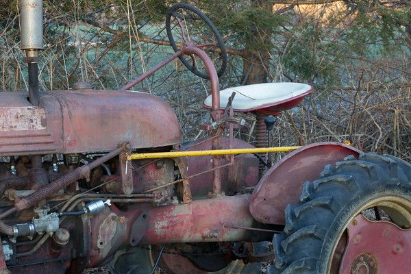 Meadow Mist Farm - Farmall Tractor still in use at MMF An Antique