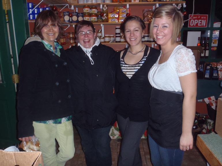 Gorts Gouda Cheese Farm/ Grass Root Dairies - Staff at our Winter Wonderland