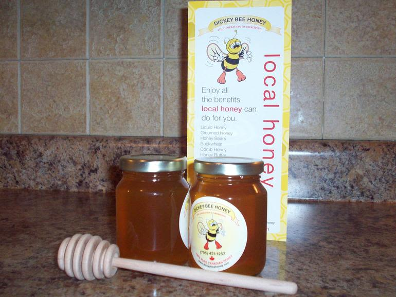 Dickey Bee Honey Inc - 125ml Honey Favours - available for baby shower - birthday - wedding - anniversary - clubs -  125ml Wildflower Honey