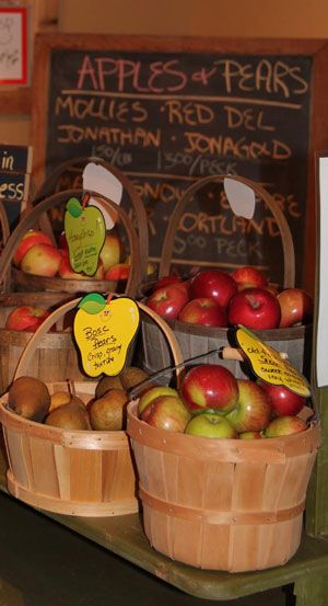 Old Homestead Orchard - Apples available in the Orchard Store at Old Homestead