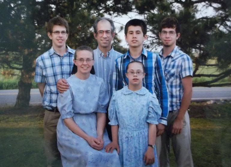 Sterling Acres - Our family, all dressed up.
