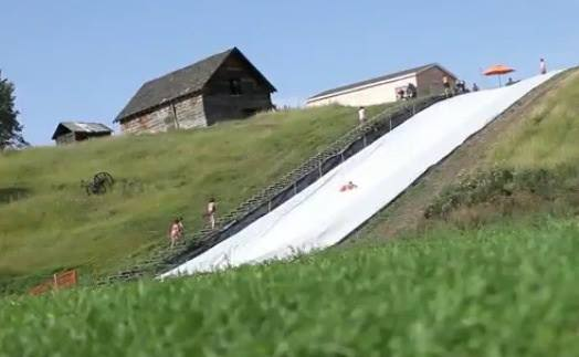 EC Bar Ranch Adventures - Giant Slip'n Slide 