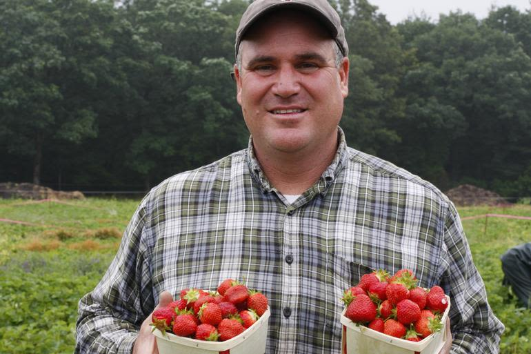 Ward's Berry Farm - Farmer Jim