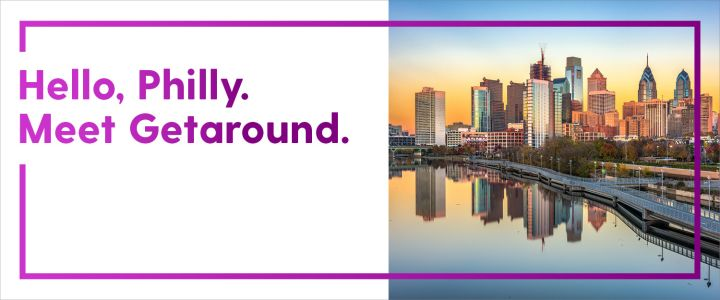 Getaround is excited to launch it's peer-to-peer carsharing service in Philadelphia.