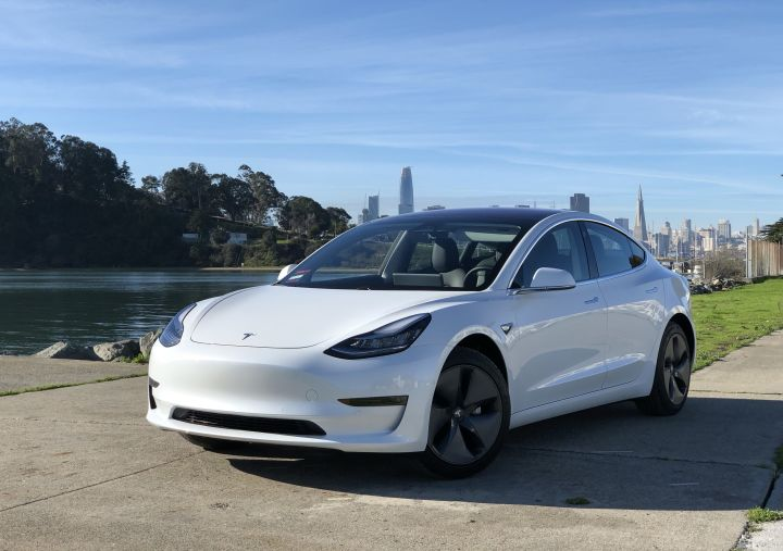 Tesla Model 3 Perfectly perched | Getaround