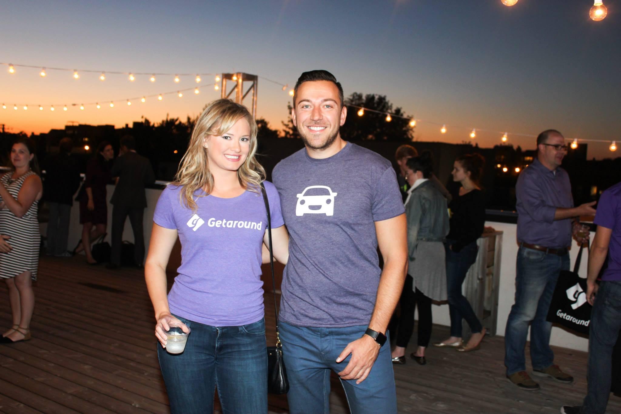 Jessica Scorpio, Getaround VP Marketing and Sam Zaid Getaround CEO