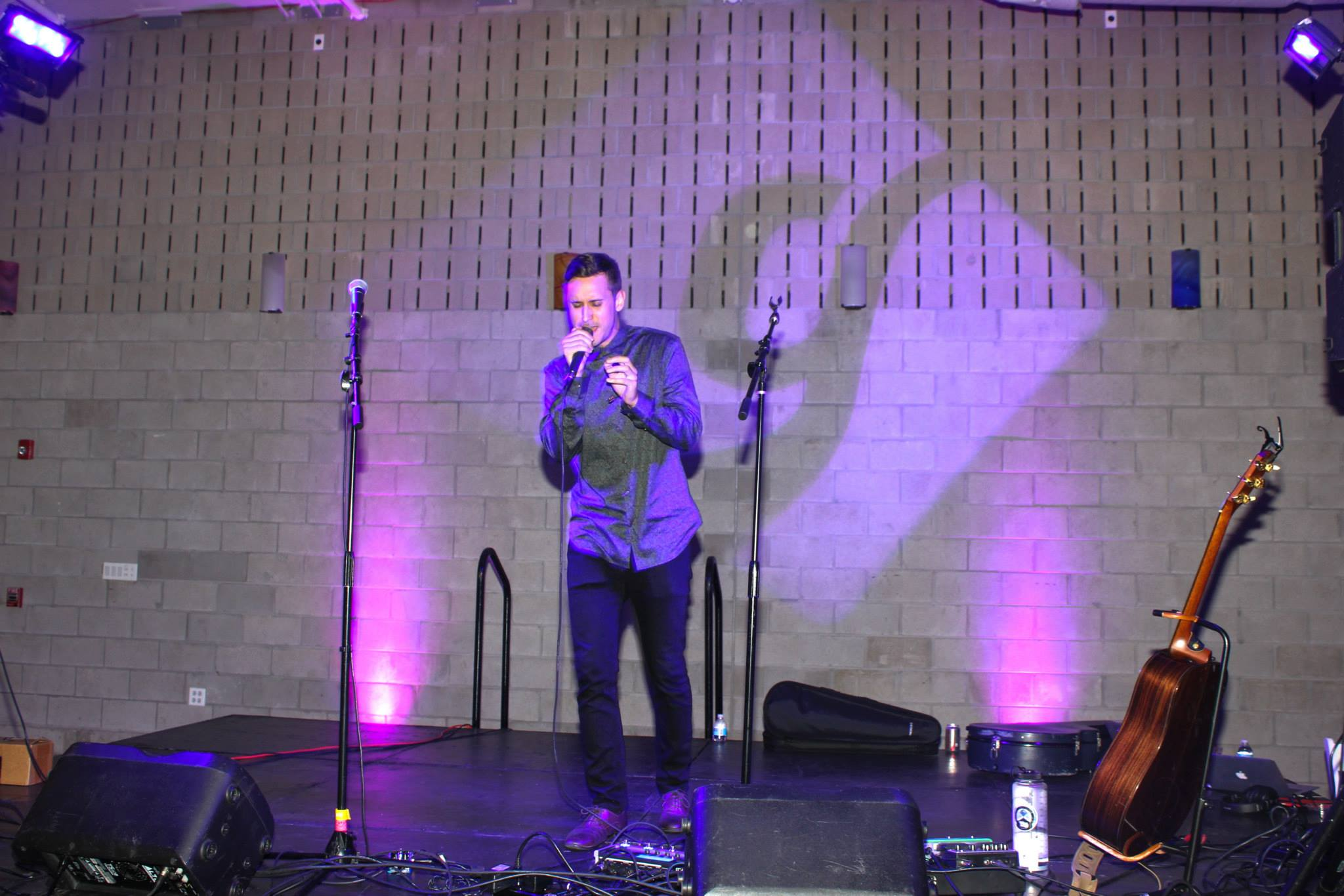 Acoustic performance by Matthew Santos
