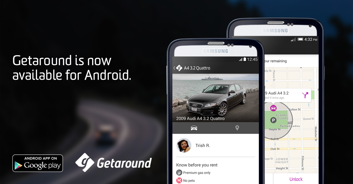 Announcing Getaround for Android