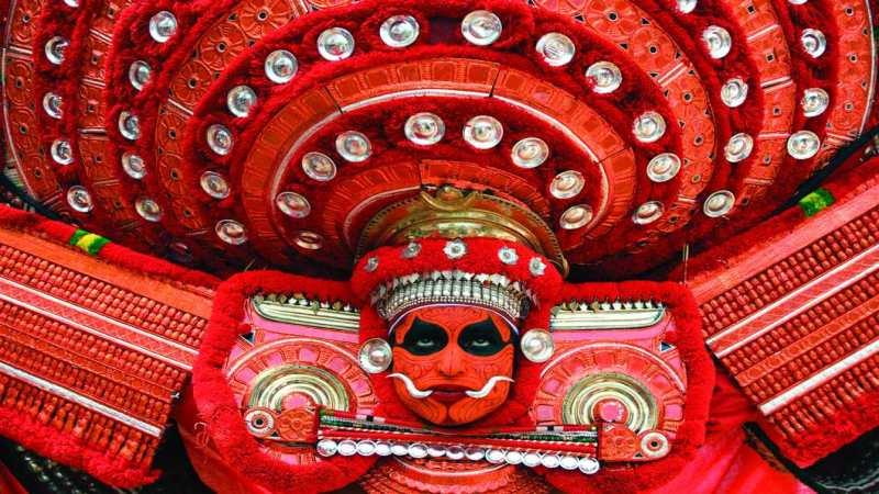 kerala ritual arts theyyam