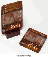 Personalized Wine Coaster Set