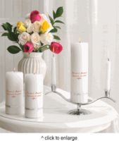 Deluxe Unity Candle Set