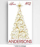Christmas Tree Canvas Sign