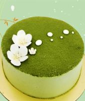 """Green Tea Cake 8"""""""
