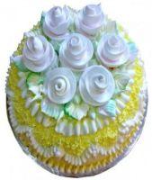 Add On, Creamy Bouquet Lemon Cheese Cake