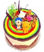 """Rainbow Connection""Sponge Cake 1Kg"