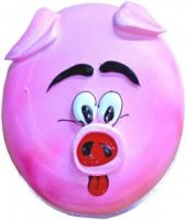"""Porky Face"" Sponge Cake 1 Kg"