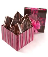 RASPBERRY CHOCOLATE FUDGE BROWNIES