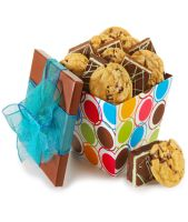 DAZZLING DOTS COOKIE AND BROWNIE COLLECTION