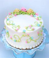 BIRTHDAY CAKE - PASTELS