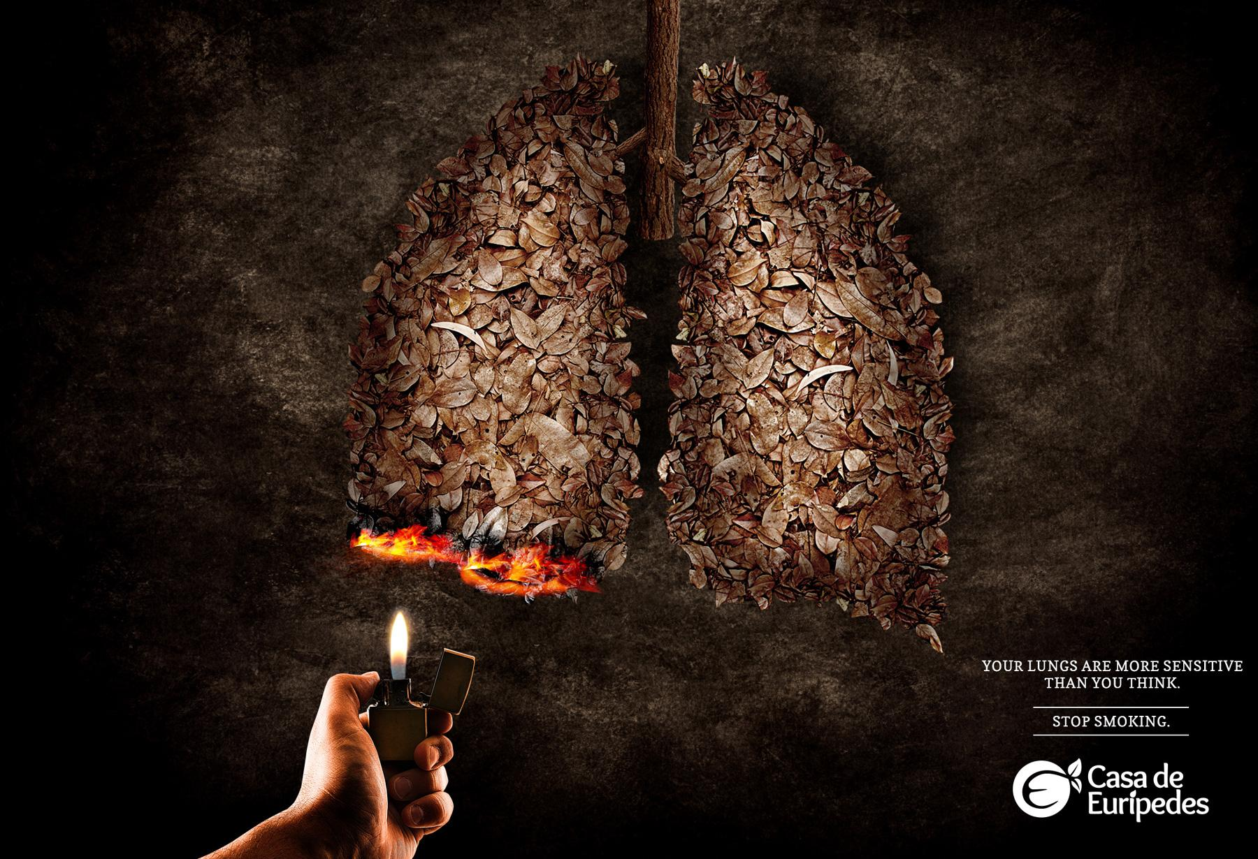 startling anti smoking advertisement Take for example, the australian 13quit's anti-smoking commercial through the use of rhetoric, the australian advertisement is able to effectively manipulate the audience and convince it to support the company's intended message.