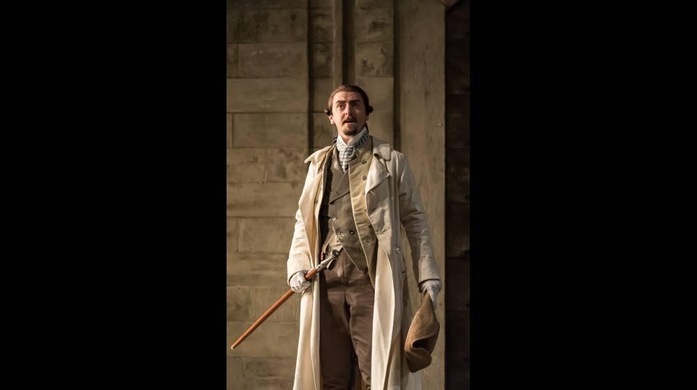 Glyndebourne Tour 2015, Die Entführung aus dem Serail. Belmonte (Benjamin Bliss). Photographer: Clive Barda
