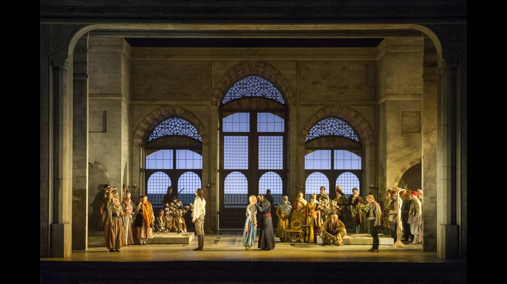 Die Entführung aus dem Serail, Glyndebourne Festival 2015. Act III scene.