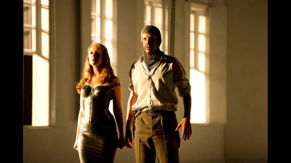 Brenda Rae as Armida and Luca Pisaroni as Argente, Rinaldo 2011.