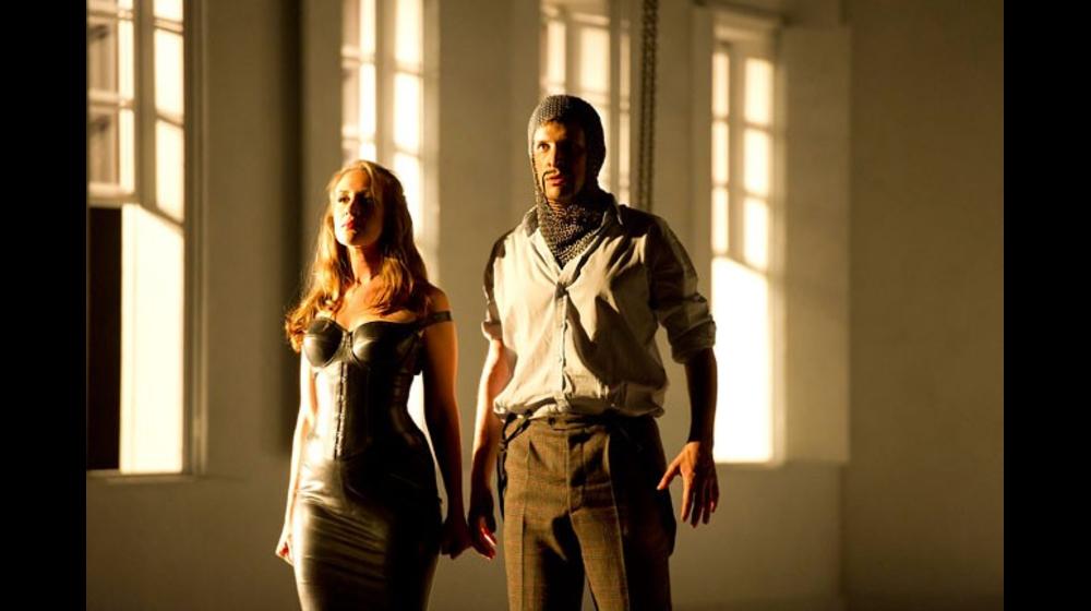 Brenda Rae as Armida and Luca Pisaroni as Argente, Rinaldo 2011.