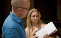 Lovers Walk rehearsal. Photo: David Illman