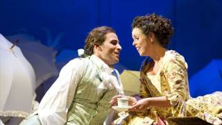Enea Scala as Ernesto and Ainhoa Garmendia as Norina, Don Pasquale, Tour 2011