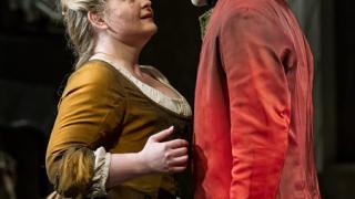 Cenerentola (Elizabeth DeShong) and Don Ramiro (Taylor Stayton), La Cenerentola 2012.