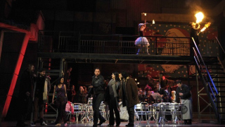Cast of La bohème, Glyndebourne on Tour 2011.