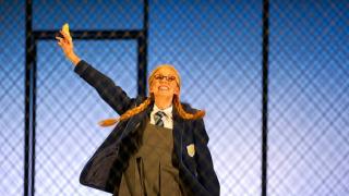 Anett Fritsch as Almirena, Rinaldo 2011.