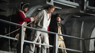 Billy Budd, Glyndebourne Festival 2013. Billy Budd (Jacques Imbrailo).