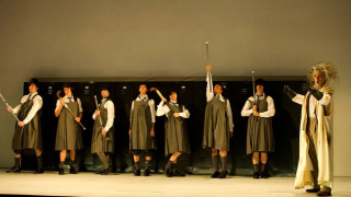 William Towers as Christian Magus, Glyndebourne Chorus and dancers, Rinaldo 2011.