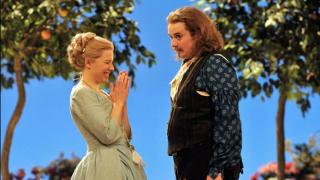Sally Matthews as Fiordliligi and Allan Clayton as Ferrando