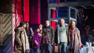 Cast of the 2012 Festival Production of La bohème, La bohème 2012.