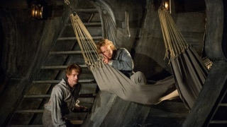 Billy Budd, Glyndebourne Festival 2013. Novice (Peter Gijsbertsen) and Billy Budd (Jacques Imbrailo).