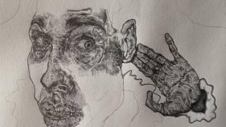 Runner-up: 'Self-Portrait as a Fool' by Piers Inkpen