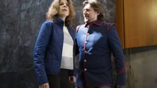 Ana María Martínez (Paolina) and Igor Golovatenko (Severo).