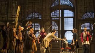 Die Entführung aus dem Serail, Glyndebourne Festival 2015. Act I scene.