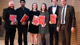 Gus Christie Award ceremony