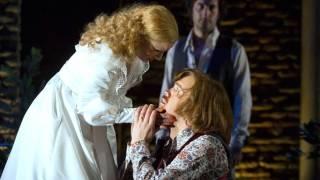 Countess (Sally Matthews), Count (Audun Iversen) and Figaro (Vito Priante), Le nozze di Figaro 2012.