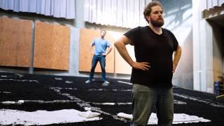Duncan Rock and Allan Clayton (Male Chorus)