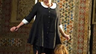 Susanna (Lydia Teuscher) and Count (Audun Iversen), Le nozze di Figaro 2012.