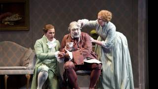 Enea Scala as Ernesto and Jonathan Veira as Don Pasquale, Don Pasquale, Tour 2011