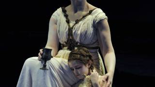 The Rape of Lucretia, Glyndebourne Festival 2015. Lucretia (Christine Rice) and child.