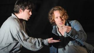 Jacques Imbrailo as Billy Budd and Ben Johnson as The Novice in the 2010 Festival Production