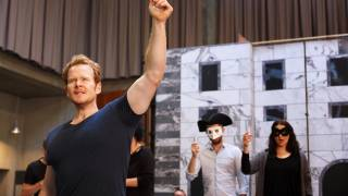 Don Giovanni Tour rehearsal